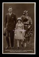 r3496 - King George VI, Queen Elizabeth & Princess Elizabeth, No.11 - postcard