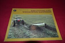 John Deere Hay Cutting & Windrow Equipment For 1985 Dealers Brochure DCPA