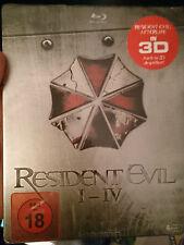 Resident Evil Quadrilogy Steelbook Brandneu Und Versiegelt Deutsch Selten