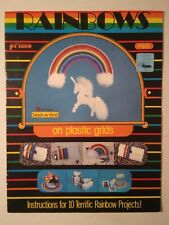 Unicorn Rainbows on Plastic Canvas Patterns Grids 10 Projects Tissue Covers More