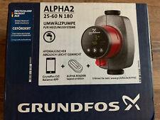 Grundfos ALPHA2 25-60 N 180 Umwälzpumpe 99271971 Neu