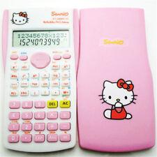 Hello kitty cartoon student exam science calculator duo a dream cartoon Multi-fu