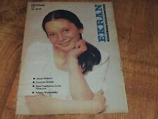 Ekran 16/1984 polish magazine Galina Belajewa, Johnny Weissmuller, Sydne Rome