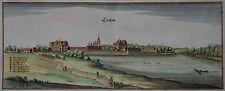 Curtow - Kürtow - Korytowo - Merian - Originale Stadtansicht um 1650 - Polen