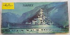 Heller TIRPITZ German WWII Battleship 1:400 Model Kit #L1083 Early Issue