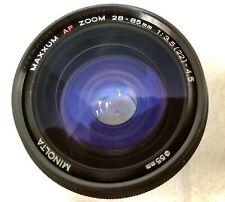 Minolta Maxxum 28-85mm 3.5-4.5 AF Lens Zoom