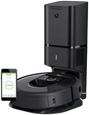 iRobot Roomba i7+ Wi Fi Connected Robot Vacuum With Automatic Dirt Disposal 7550