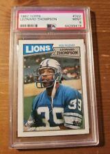 1987 Topps - Leonard Thompson #322 - PSA 9 - Detroit Lions Low POP 7