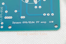 1set Classic Dynaco 6V6/EL84 6SL7/12AX7 PP amp bare diy pcb 10w*2 THD0.4%