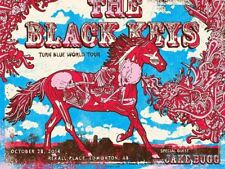 Black Keys Edmonton 2014 Screenprint Poster by Gregg Gordon S/N'd