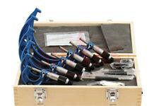 """SHARS 0-6"""" 6 Premium Outside Micrometer Set Solid Metal Frame .0001"""" Carbide Tip"""