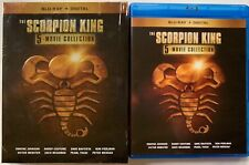 THE SCORPION KING 5 MOVIE COLLECTION BLU RAY 5 DISC SET + SLIPBOX FREE SHIPPING