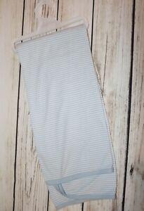 Pure Baby 100% Organic Cotton Blue & White Stripe Baby Wrap #BABY2