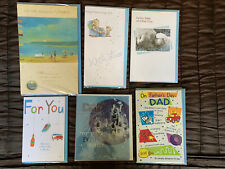 6 X FATHERS DAY CARDS NEW