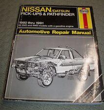 Nissan Pick-Ups & Pathfinder: Automotive Repair Manual by Paul, Freund and Harol