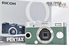 [RARE MINT]Shutter Count =1706  PENTAX Q-S1 12.4 MP  Green x Silver Body (M547)
