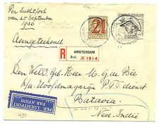 NED INDIE DUTCH INDIES 1930-09-21  REG. CV # LP6 -ETS NR 1 ON SHEET MAR.-  VF