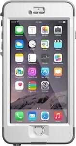 LifeProof NUUD WaterProof Case For Apple iPhone 6 Plus iPhone 6s Plus White