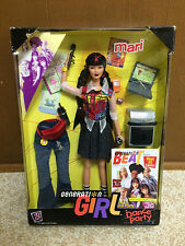 Barbie Asian Doll Mari Generation Girl Dance Party Raven Hair Red Streaks