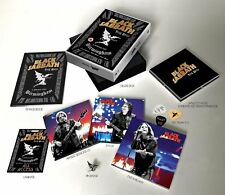 Black Sabbath The End Deluxe dvd blu ray 3 cds picks badge book ..