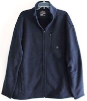 Polo Ralph Lauren Big Tall Mens 1XB Navy Blue Fleece Performance Jacket NWT 1XB