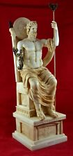 Zeus the greatest sculpture statue greek God Free Shipping Aged Patina Big Size