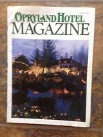 Opryland Hotel Magazine Fall 1993 Dawning of The Delta Country Christmas