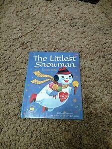 Rare Old Vintage Original Wonder Book The Littlest Snowman 1958