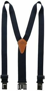Dickies Heavy Duty Clip Suspenders - Men's Y Back Straps for Work Pants,One size