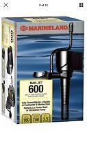 Maxi-Jet 600 Pro Pump For Aquariums 3 In 1 160/750 Max Gph Aquarium Fish Tank Us