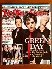 ROLLING STONE MAGAZINE AUSTRALIA DECEMBER 2005 GREEN DAY THE ROLLING STONES!