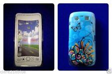 Fundas de color principal azul para teléfonos móviles y PDAs BlackBerry