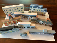 Lot of 9 Vintage The Cats Meow Village Collection - Wolfeboro Winnipesaukee Nh
