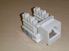 5er Set !!!!!    KeyStone Module RJ45 Netzwerkdose, Jack Cat 5e LSA NET Ethernet