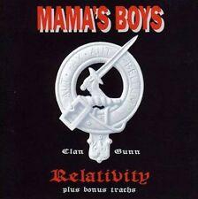 MAMA'S BOYS - Relativity - CD - NEU - plus bonus tracks