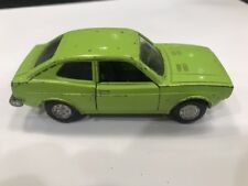 Mercury Fiat 128 SL 1300 Italy 1/43 Green Vtg European Market Toy Die Cast Car
