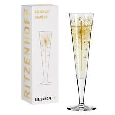 Ritzenhoff Champus Goldnacht Champagnerglas 05 Wunderkerze  Petra Mohr 201