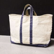 Vintage Rare 70s 80s LL BEAN Tote Bag LARGE From JAPAN Free shipping