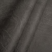 Kunstleder Meterware 1lfm Polsterstoff marmoriert Lederoptik Elefant Grau