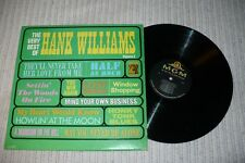 Hank Williams LP, The Very Best Of Of Hank Williams Vol. 2, MGM SE- 4227