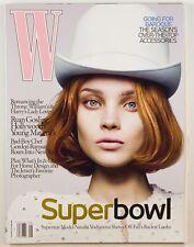 Ryan Gosling JESSICA STAM Kate Moss MIDDLETON Du Juan GEMMA WARD vtg W Magazine