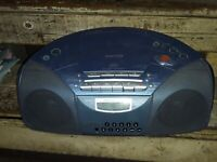 SONY CFD-520CP CD/RADIO/CASSETTE/MP3 BOOMBOX TESTED WORKING(SOME SCRATCHES)