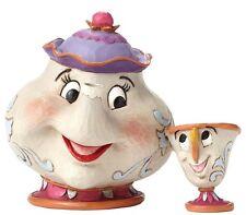 Mrs Potts und Chip Madame Pottine Tassilo Enesco Disney Sammelfigur 4049622