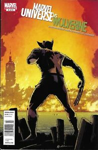 Marvel Universe Vs Wolverine Comic 4 Cover A First Print 2011 Jonathan Maberry