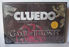 Cluedo Game Of Thrones Special Edition Double Sided Game Board
