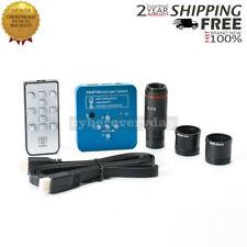 HY-1139su 34MP Industrial Microscope Camera 0.5X C-mount Lens 2K/1080P 60FPS USB
