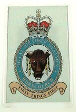 RAF Royal Air Force Station Hornchurch crested Fridge Magnet