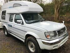 NISSAN NAVARA 4 BERTH MOTORHOME HIGH TOP 4WD AUTO New Camper conversion NEW LPG