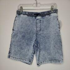 New with Tags Wonder Nation Boys Acid Wash Denim Shorts Extra Large XL Husky