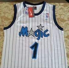 NWT NIKE Anfernee Penny Hardaway Orlando Magic Throwback Jersey Size M White